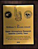 Image of the Pecora Award